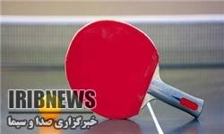 پایان مسابقات تنیس روی میز در مهاباد