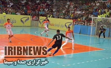 پایان مسابقات فوتسال جام رمضان در مهاباد