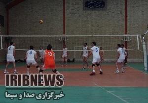 آغاز مسابقات والیبال مهاباد جام رمضان